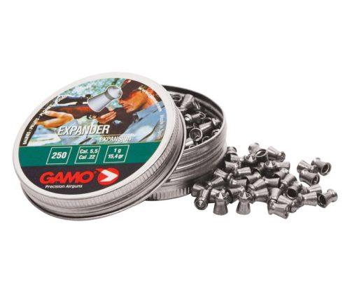 Пули Gamo Expander 5,5 мм, 1 грамм, 250 штук