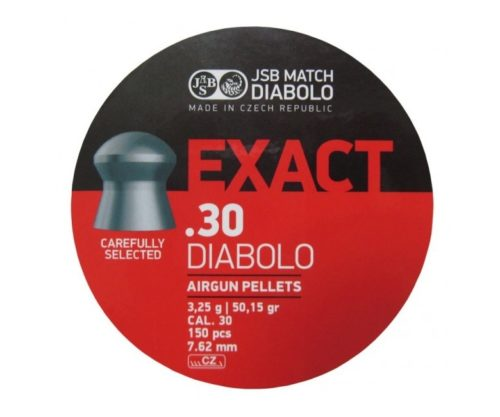 Пули JSB Exact Diabolo 7,62 мм, 3,25 грамм, 150 штук