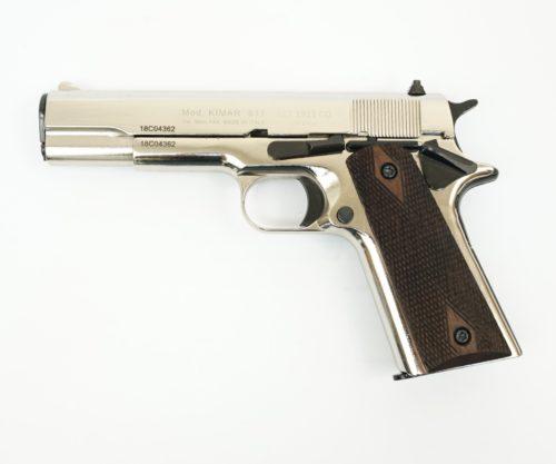 Охолощенный СХП пистолет 1911 Kurs (Colt) 10x24, хром