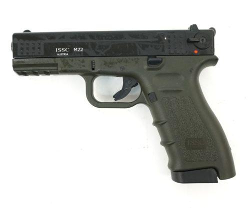 Охолощенный СХП пистолет K17 Kurs (Glock 17) 10ТК, темно-зеленый
