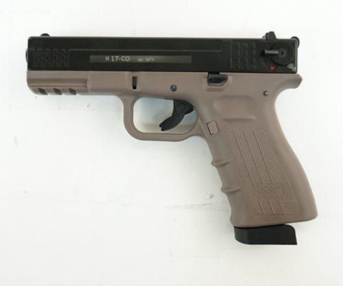 Охолощенный СХП пистолет K17 Kurs (Glock 17) 10ТК, песочный