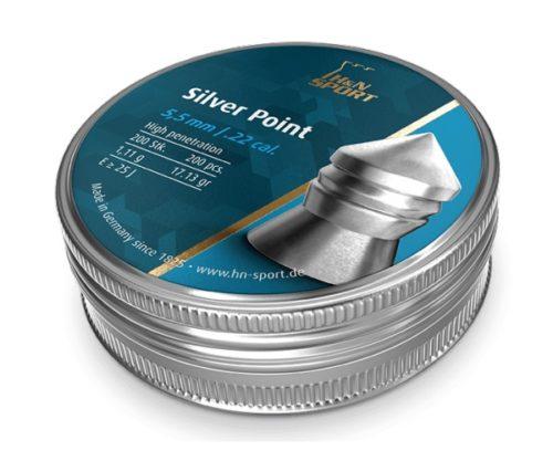 Пули H&N Silver Point 5,5 мм, 1,11 грамм, 200 штук