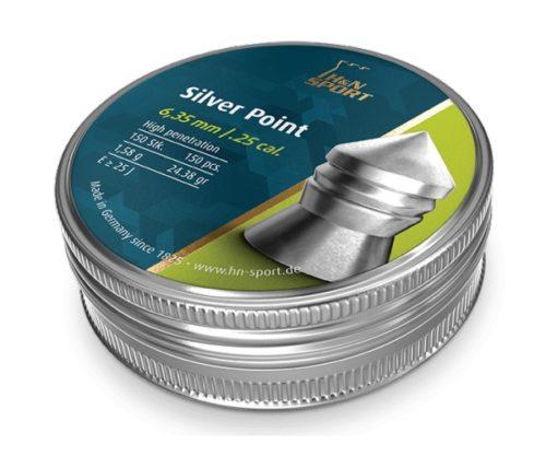 Пули H&N Silver Point 6,35 мм, 1,58 грамм, 150 штук