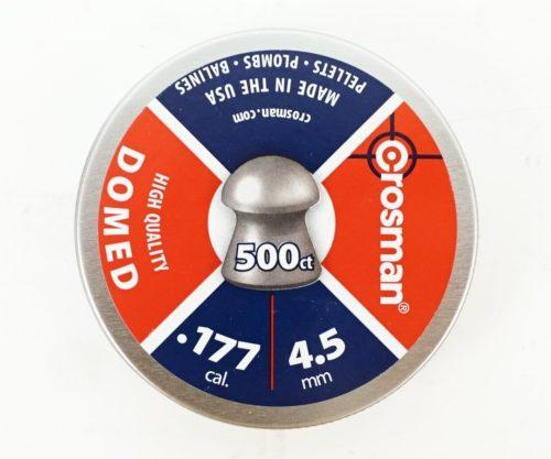 Пули Crosman Domed 4,5 мм, 0,48 грамм, 500 штук