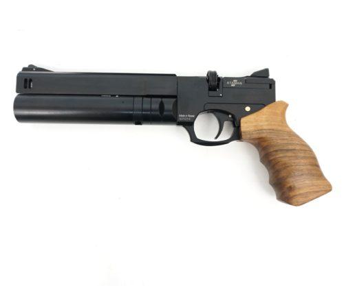 Пневматический пистолет Ataman AP16 (компакт, дерево, PCP) 5,5 мм