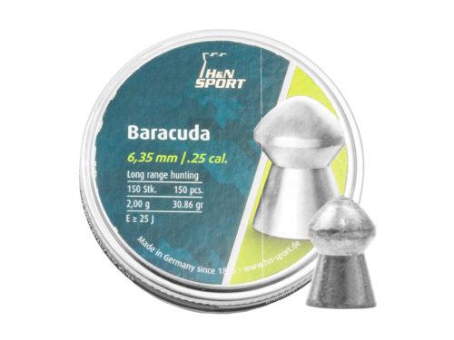 Пули H&N Baracuda 6,35 мм, 2,0 грамм, 150 штук