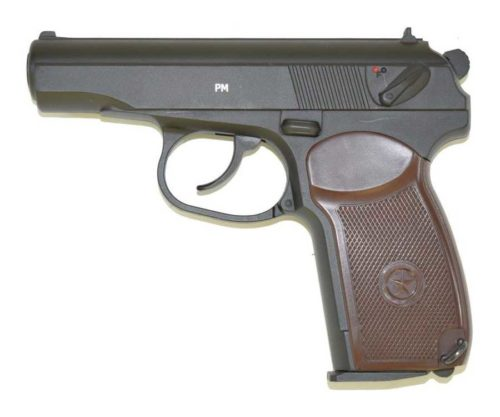Пневматический пистолет Gletcher PM (Макарова)