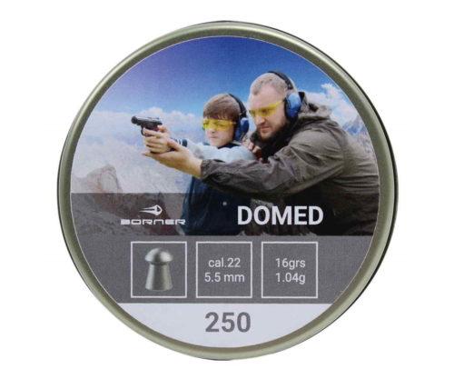 Пули Borner Domed 5,5 мм, 1,04 грамм, 250 штук