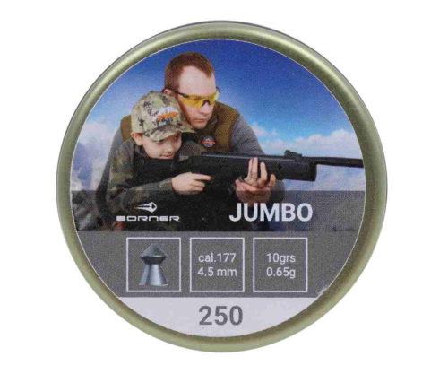 Пули Borner Jumbo 4,5 мм, 0,65 грамм, 250 штук