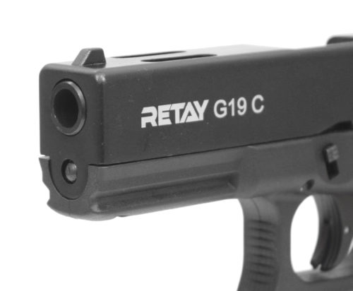 Охолощенный пистолет Retay Glock 19C