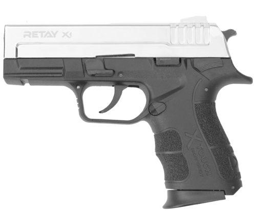 Охолощенный пистолет Retay X1 (Никель)