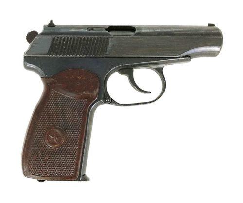 Охолощенный СХП пистолет Макарова ПМ-О (Фортуна) 10×24