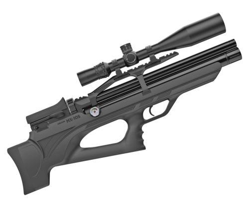 Пневматическая винтовка Aselkon MX-10S, L=450 (пластик, PCP, 3 Дж) 6,35 мм