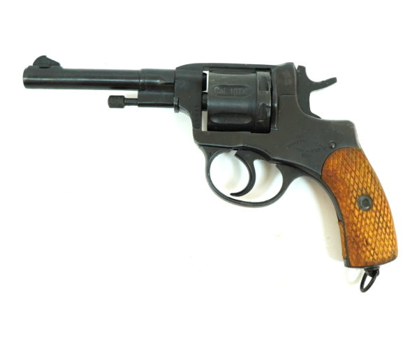 Охолощенный СХП револьвер Наган Р-412, царские по 1917 (Байкал) 10ТК